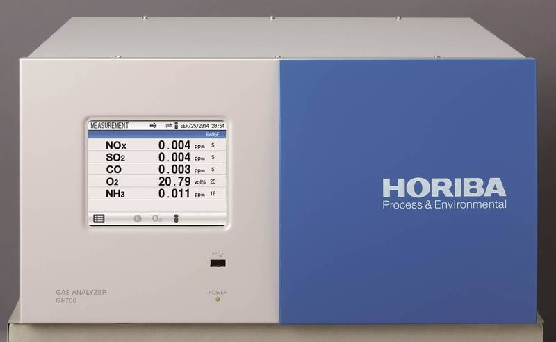 Stack Gas Analyzer GI-700 Series - Increase your CEMS Capabilities with a HORIBA Multi-gas Analyzer