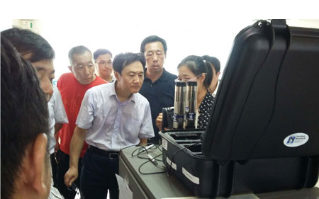 Pictured is Zhai Qing, Vice Minister of the Ministry of 