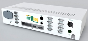 "recordum airQlog 19"" Data Logger for Saving, Managing, and Displaying Data from Various Air Quality Monitors and Sensors"